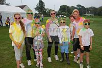 Colour Me Happy - Sunday 4th October 2015 - Stanhope Park Holsworthy- For The Longhouse -North Devon Hospice - Good Fun .